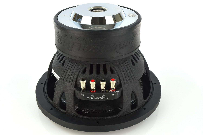 New American Bass Xr12d4 2400 Watt 12 Inch Dual 4 Ohm 10 Jl Audio Subwoofer Car Sub Cell Phones Accessories