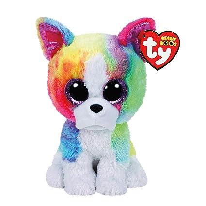 Amazon.com  Ty Beanie Boos Isla - Rainbow Dog (Claire s Exclusive ... 2337b07c6348