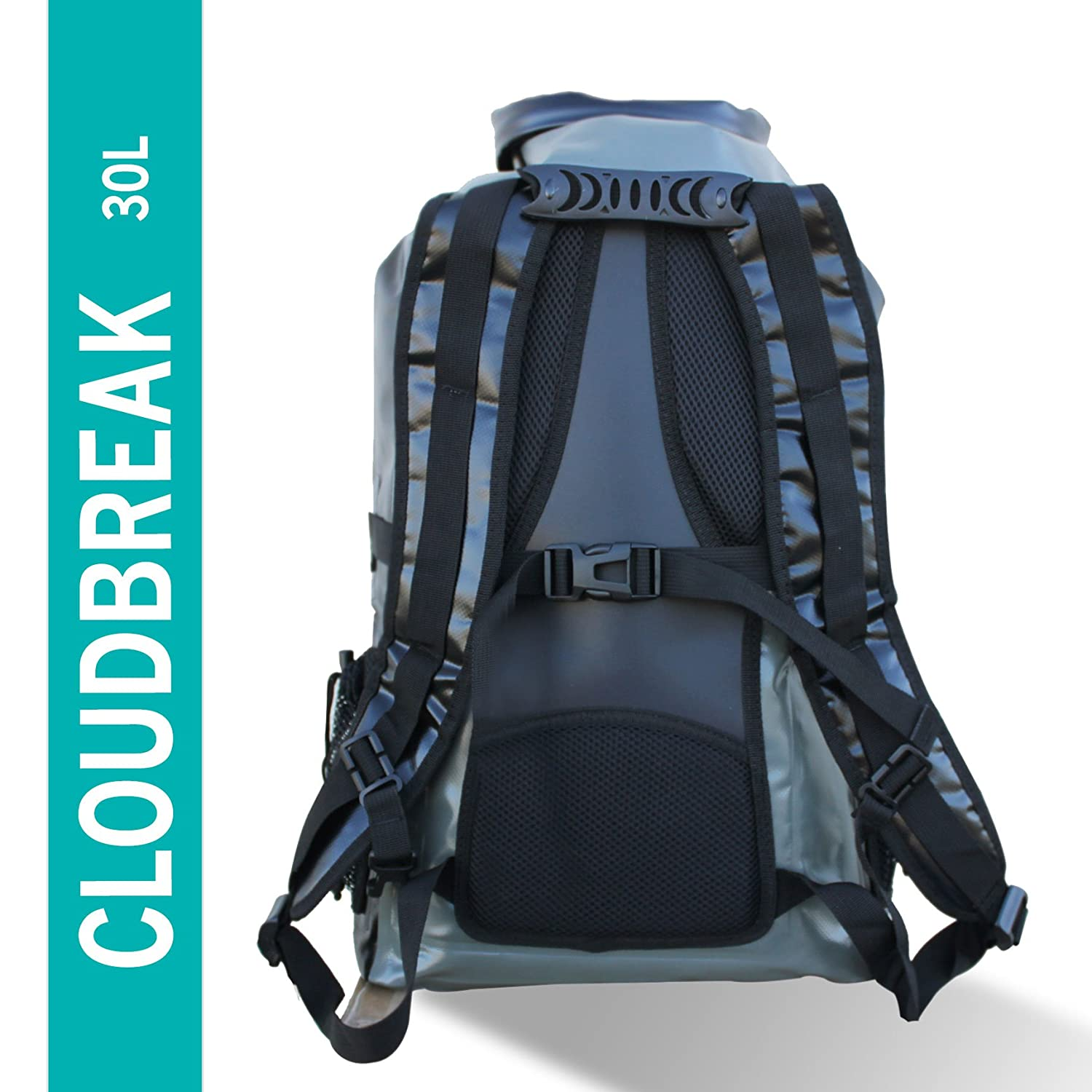 5bd587da3eb6 Amazon.com   FE Active - 30L Eco Friendly Waterproof Dry Bag Backpack Great  for All Outdoor and Water Related Activities. Padded Shoulder Straps