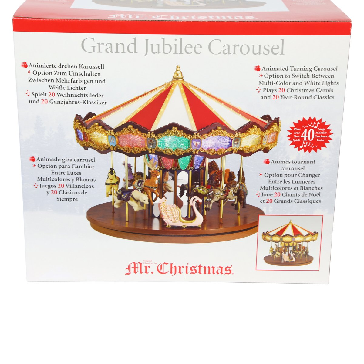 Amazon.de: Herr Weihnachten Grand Jubilee Karussell