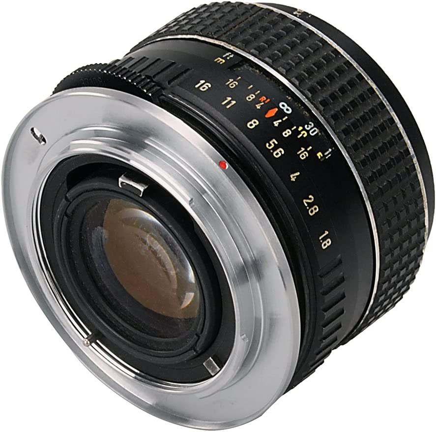 Thread Lenses to Nikon F-Mount Cameras Fotodiox Lens Mount Adapter Compatible with T-Mount T//T-2