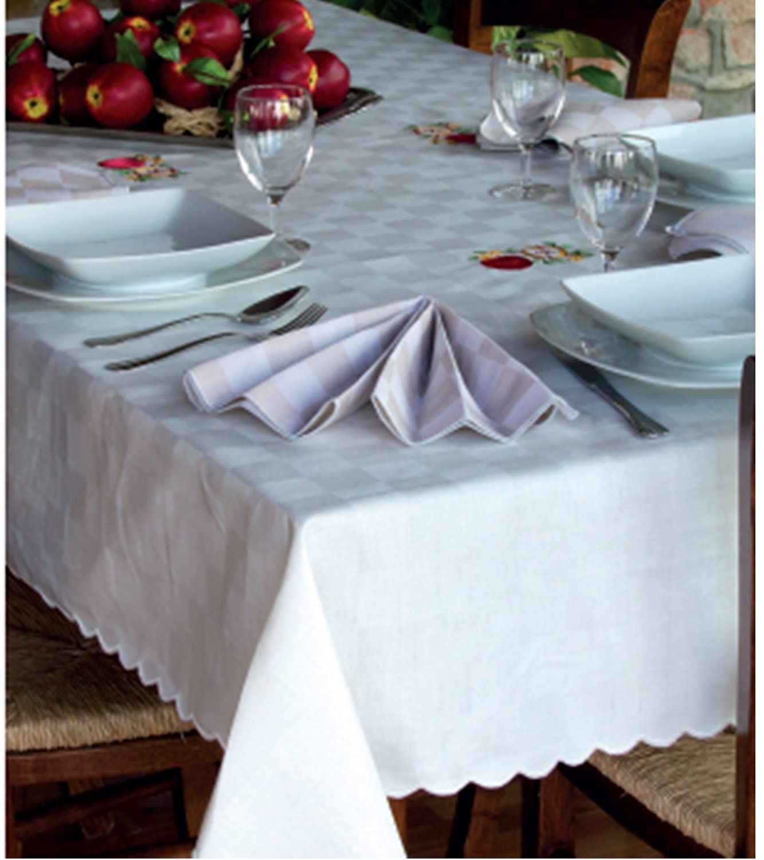 Top tovaglia da tavola dama posti copritavolo cotone x cm - Tovaglie da tavola plastificate ...