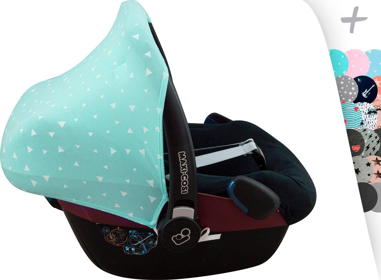 Hood Canopy for Maxi Cosi Pebble Group 0 Janabebe and Bébé Confort 10 (Dark Sky) 512