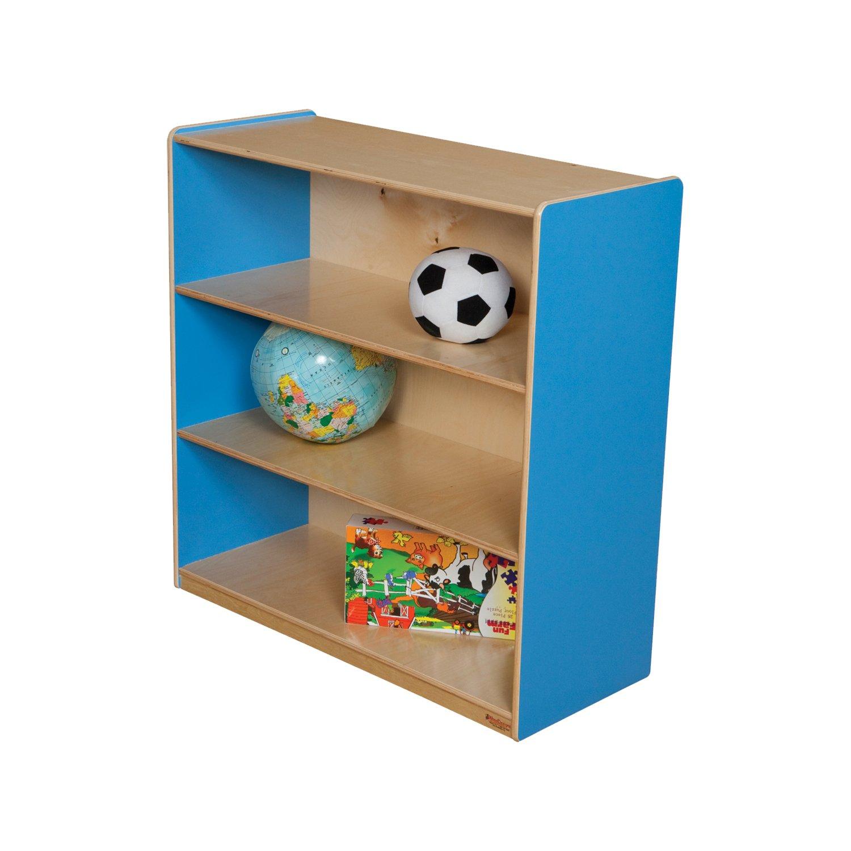 Healthy Kids Colors WD12936B Blueberry Bookshelf, 36''H