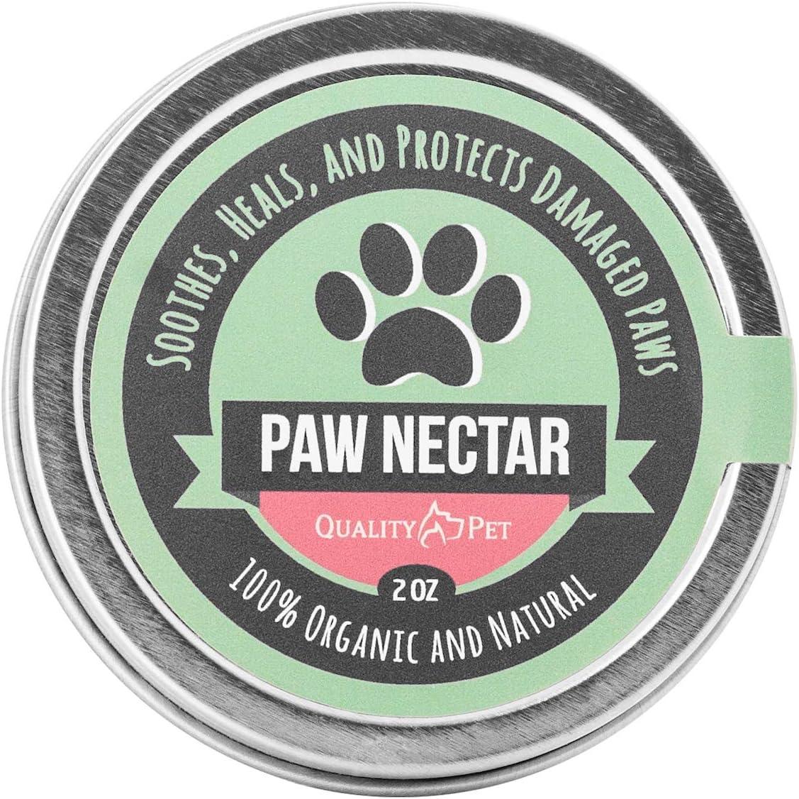 Paw Nectar 100% orgánico y Natural de la Pata Cera Cura y repara Las Patas del Perro