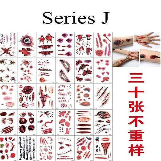 tzxdbh Etiqueta engomada clásica del Tatuaje de 10pcs-Summer ...