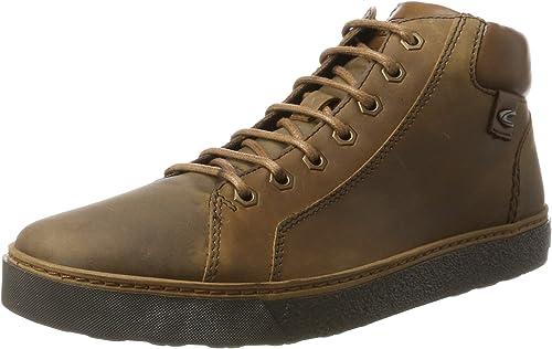 camel active Herren Cricket 13 Hohe Sneaker