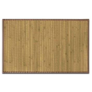 Genial Casa Pura Tapis De Salon Bambou Hypoallergénique | Chambre, Couloir,  Cuisine | Rebord Marron