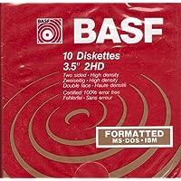 "BASF 10 Diskettes 5.25"" 2S/HD"
