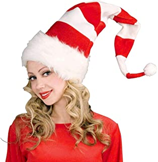 7da714747d0a3 Amazon.com  Wild Red Velvet Santa Claus Hat with Animal Print ...