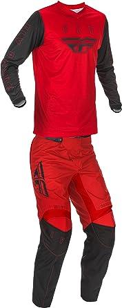 mxgear Fly Racing Mens F-16 Motocross Jersey /& Pants Red//Black//White