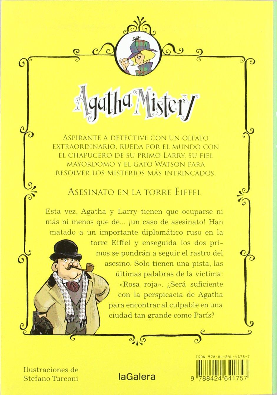 Asesinato En La Torre Eiffel (Agatha Mistery): Amazon.es: Sir Steve Stevenson, Stefano Turconi, Andrés Prieto: Libros