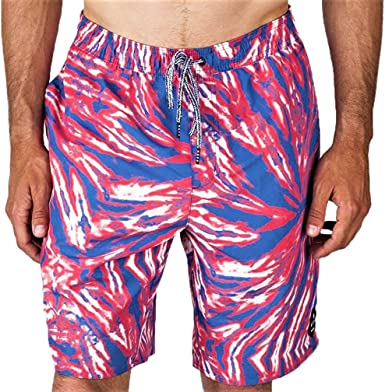 Mens Surf Skate Swim Board Long Designer Sport Stripe Swimming Trunks Shorts