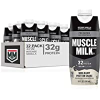 Muscle Milk Pro Series Protein Shake, Intense Vanilla, 32g Protein, 11 FL OZ, 12 Count