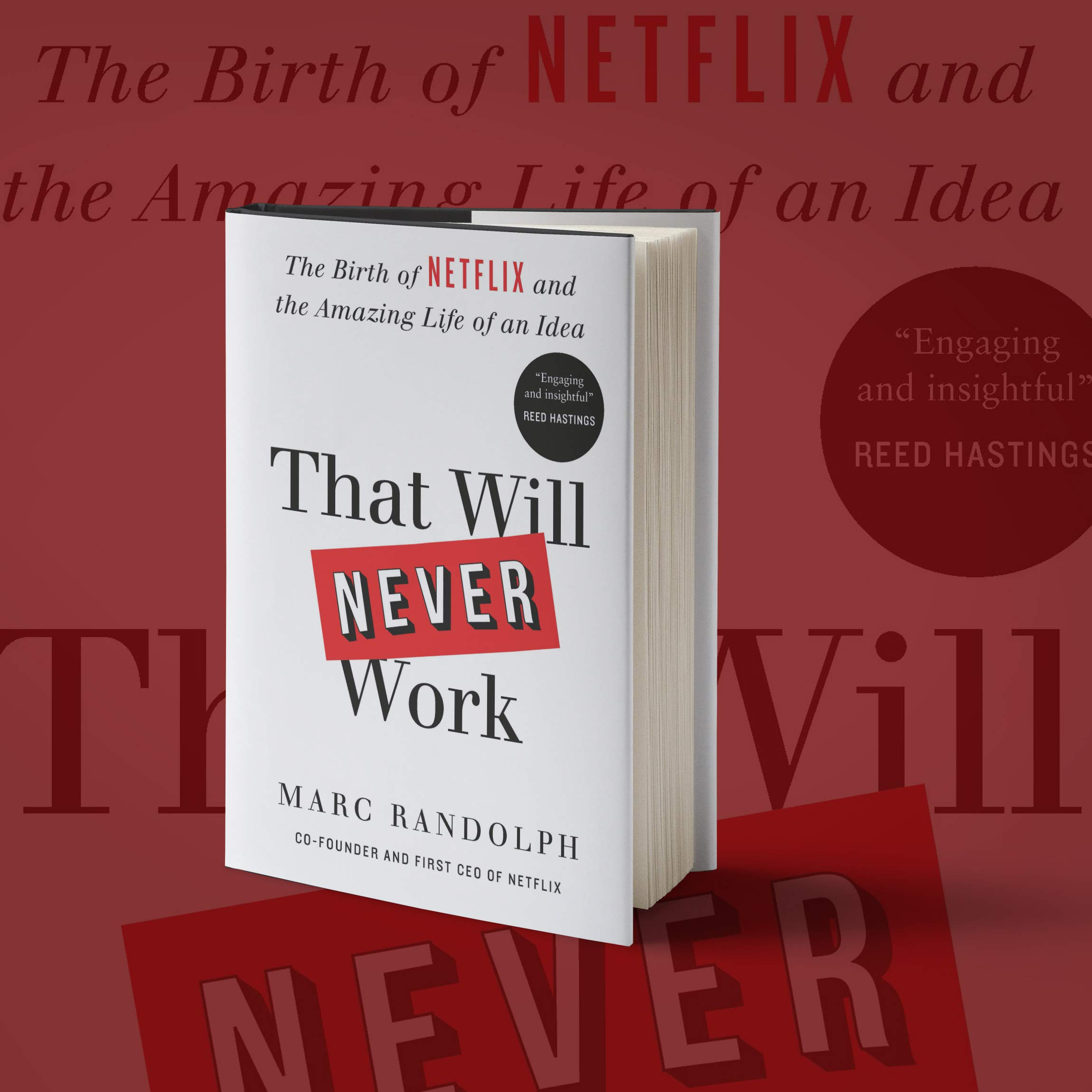 Amazon.com: That Will Never Work: The Birth of Netflix and ...