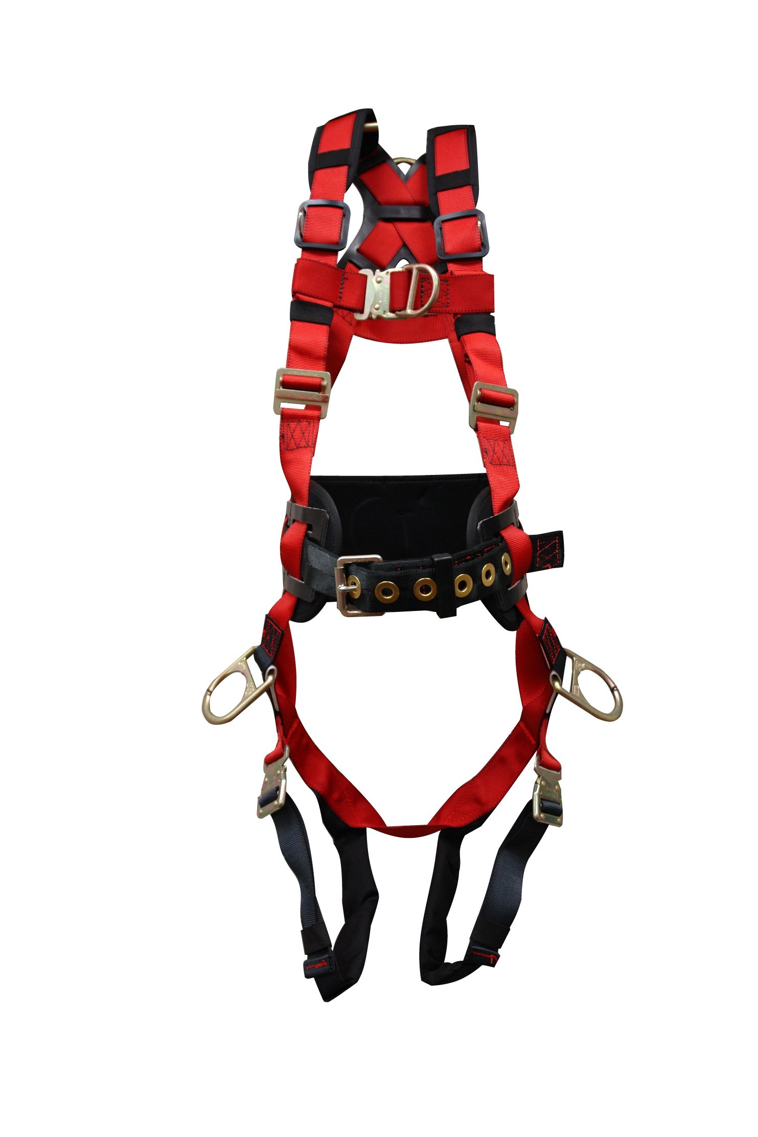 Elk River 62452 WindEagle Polyester/Nylon 4 D-Ring LE Harness with Quick Connect Buckles, Medium