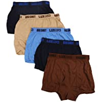 lux Men's Cotton Trunk (Pack of 5)