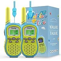 Grarg Walkie Talkie para Niños,Walky Talky Niños Juguetes para 3-12 Años,3KM Largo Alcance 16 Canales Linterna LCD VOX…