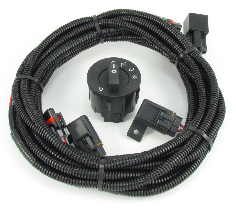 Amazon.com: 2010-2012 V6 Mustang Fog Light Wiring & Switch Kit: Automotive