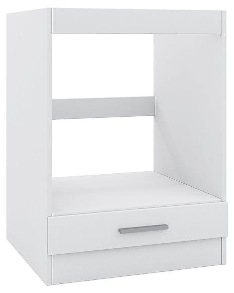Mobile per armadio, per forno ad incasso, 60 cm, Bianco