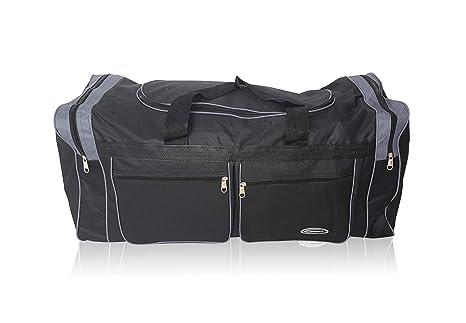 Bolsa XL de Deporte Extra Grande de 80 litros. Maleta para Deporte, Gimnasio, Viaje, Camping y almacenaje. Lona Muy Resistente e Impermeable.Hombre y ...
