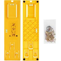 eZAKKA Picture Hanging Kit, Picture Frame Hanger Tool with Level Ruler with Hook Accessories, for All Wall Materials