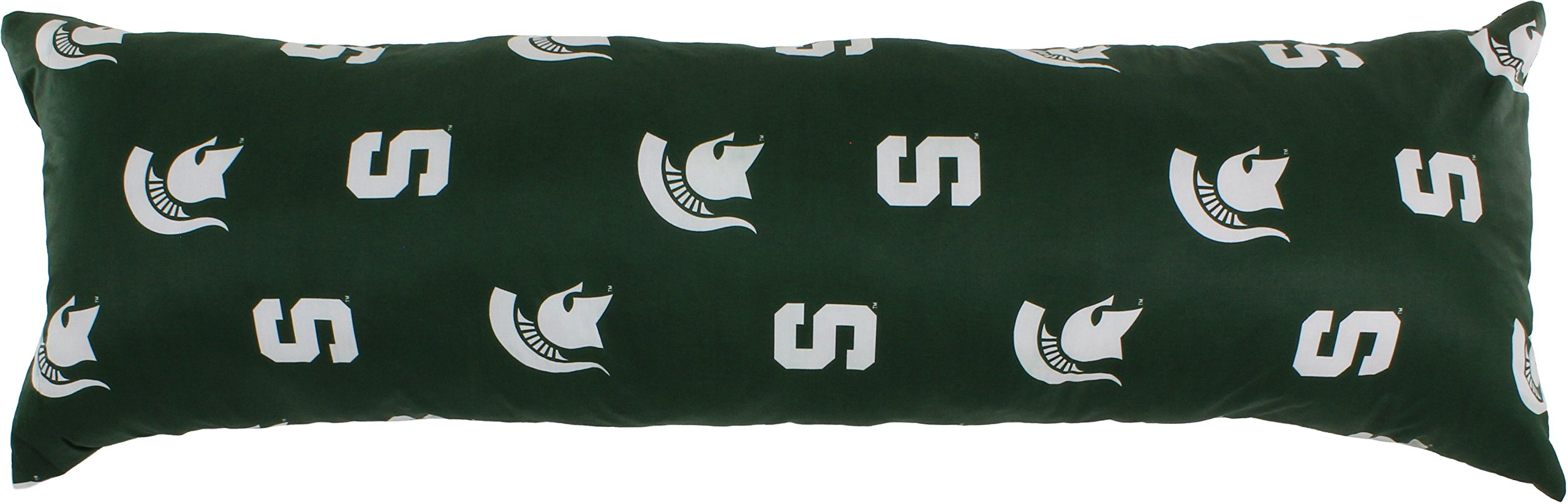 College Covers Michigan State Spartans Printed Body Pillow - 20'' x 60''