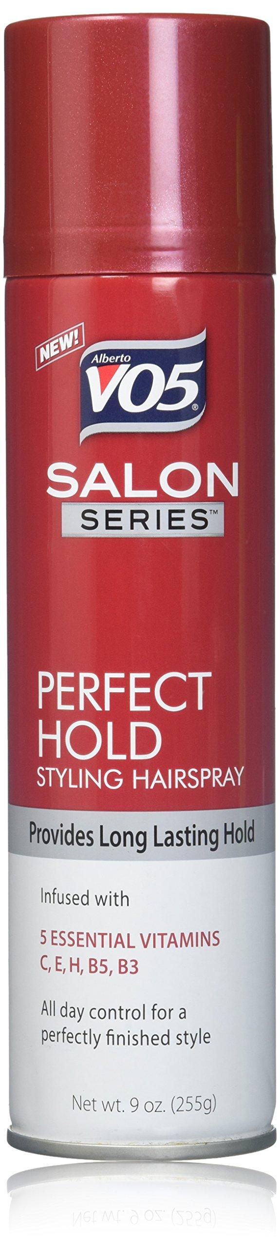 VO5 Salon Series Perfect Hold Aerosol Hair Spray, 9 oz