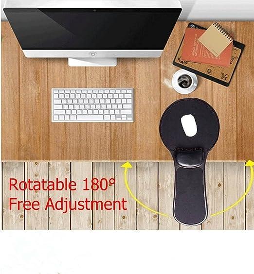 15.5 Titolare 2pc Bracciolo Computer Support Cuscino dei braccioli rotante poggiapolsi per scrivania o una sedia Extender 30.5 5