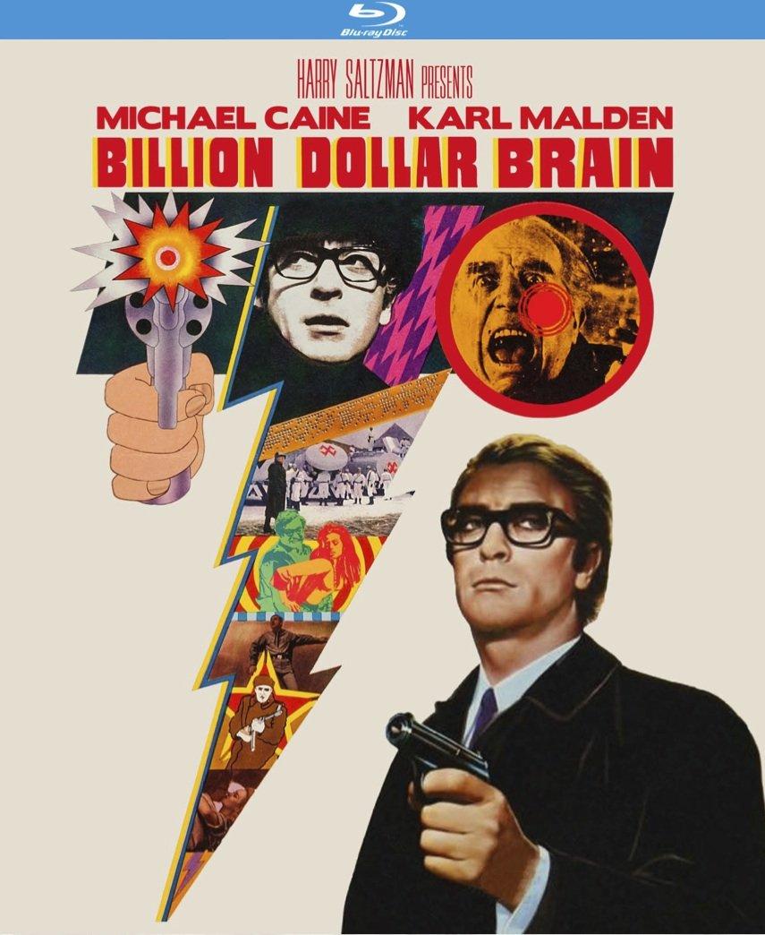 Blu-ray : Billion Dollar Brain (Blu-ray)