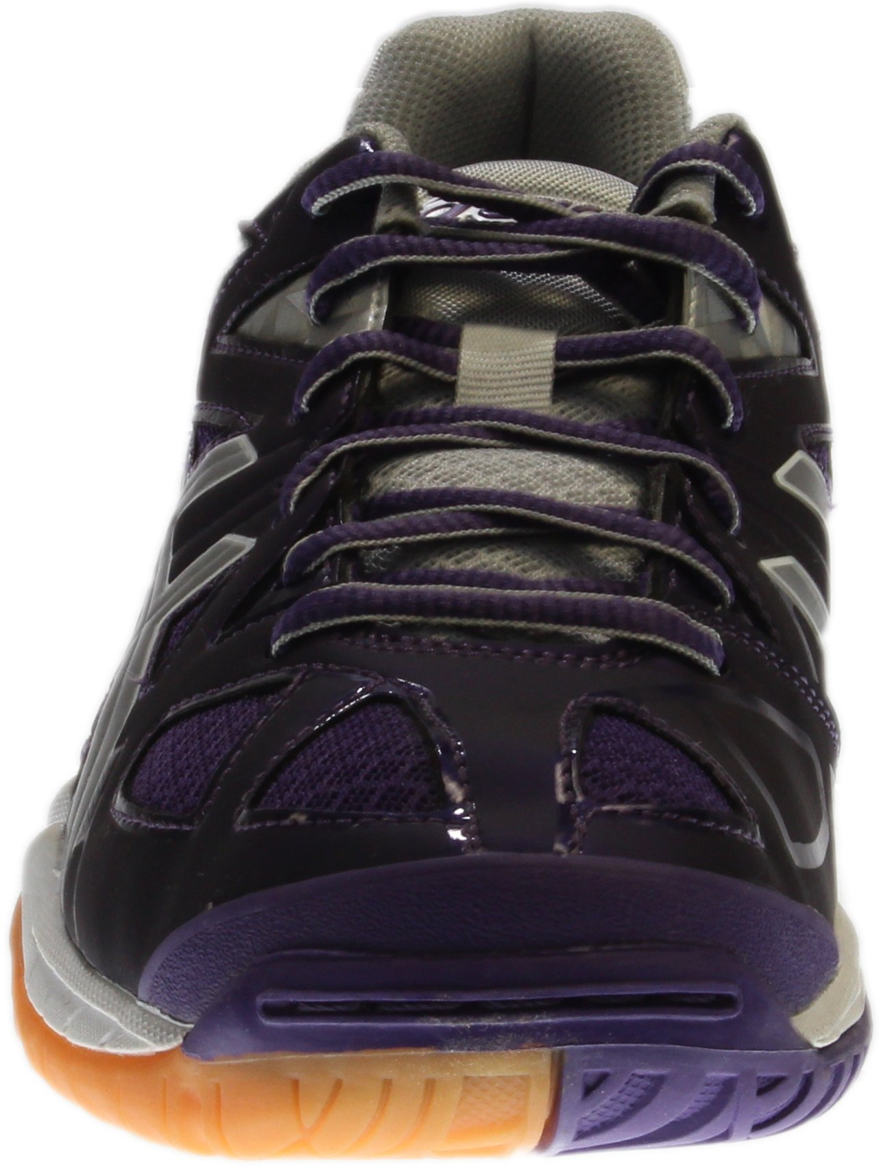 ASICS Women's Gel Tactic Volleyball Shoe, Purple/Silver/White, 9.5 M US by ASICS (Image #5)
