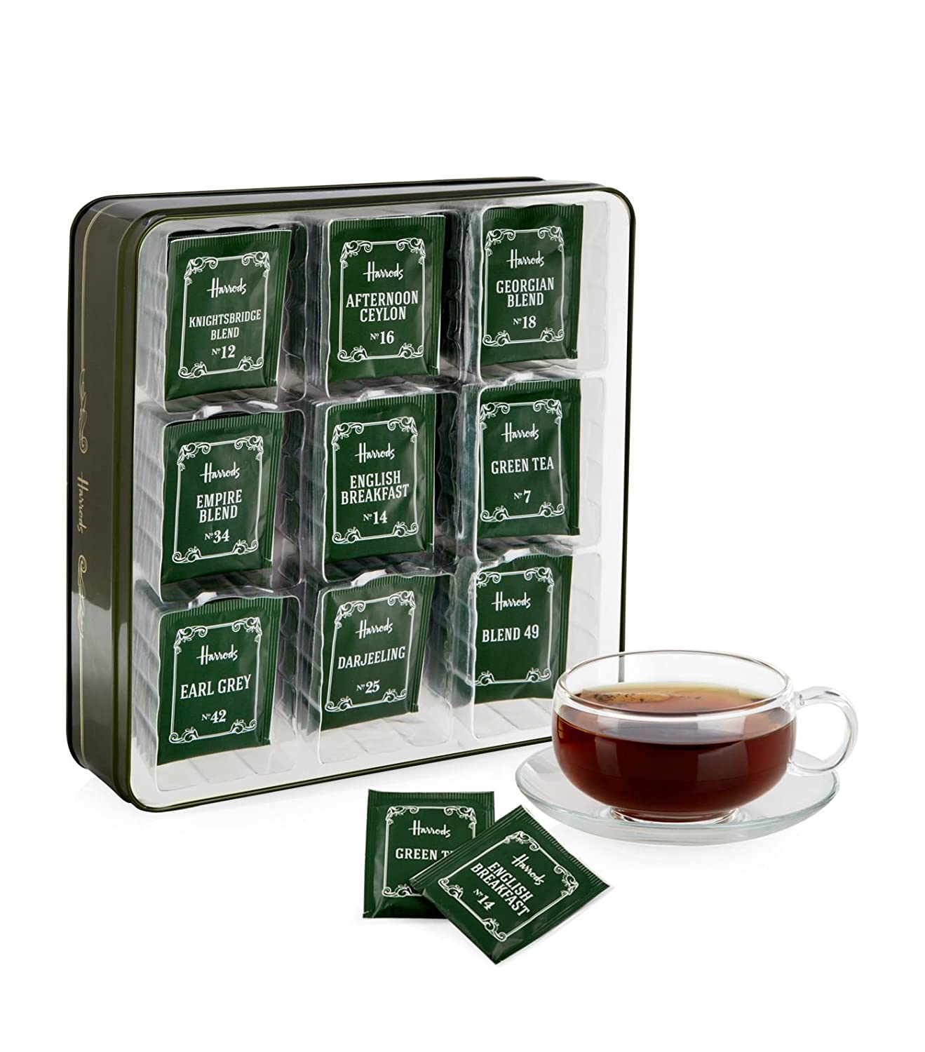 HARRODS of London - Heritage Tea Bag Selection (72 bolsas de ...