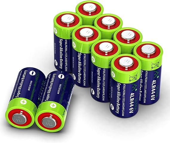 10 Stück 4lr44 6v Quecksilberfreie Alkaline Batterien Elektronik