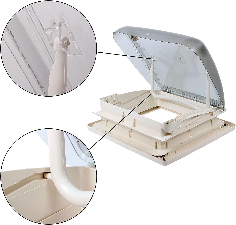 produit d/'/étanch/éit/é Dekalin pour caravane ou camping-car 45/mm Ventilation forc/ée Dekalin Lanterneau Mini Heki 40/x 40//Épaisseur: 25 Dometic