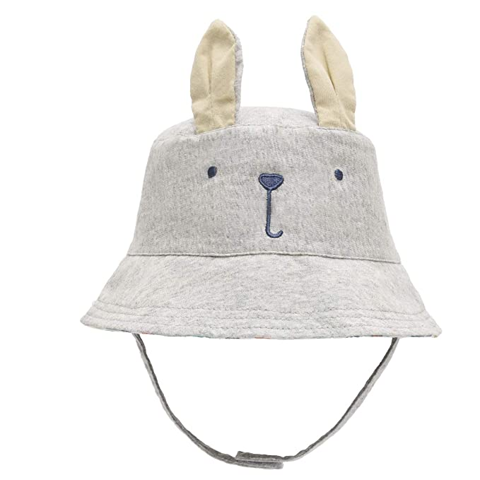 688f4fc9d03 Amazon.com  ERISO Baby Toddler Kids Breathable Sun Hat Animal Bucket ...