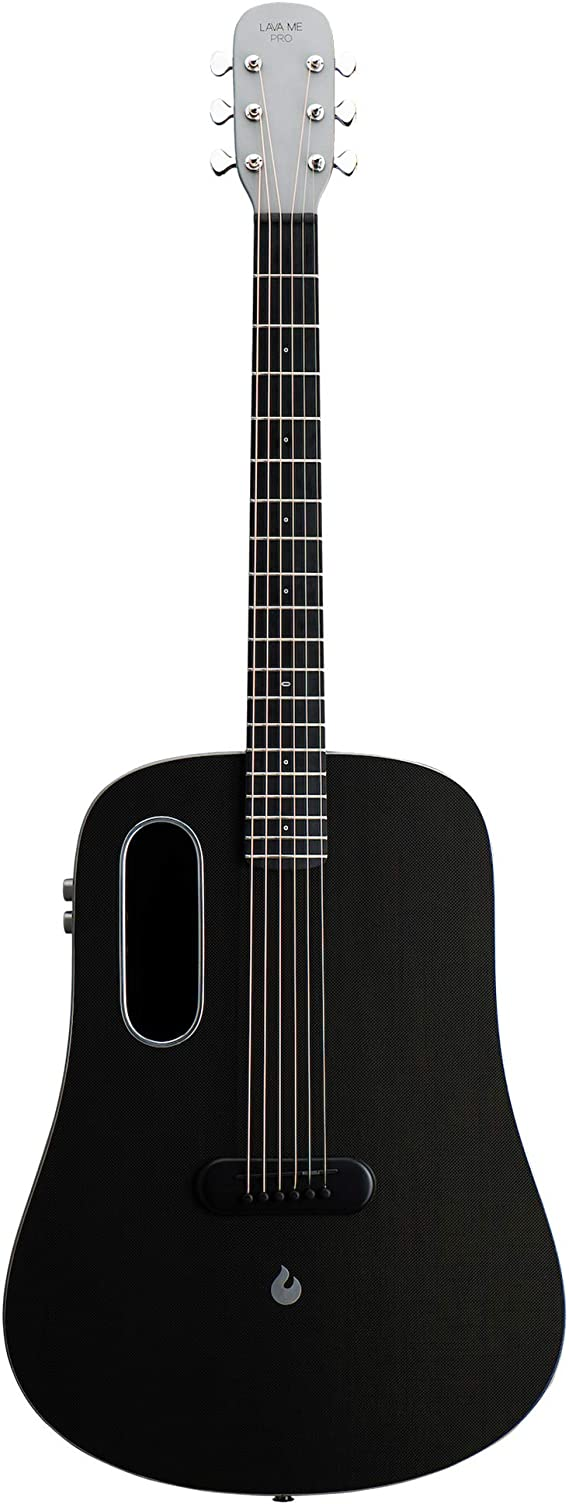LAVA ME PRO Carbon Fiber Guitar with Effects Professional Acoustic Electric Guitar with Case Pick and Charging Cable (FreeBoost