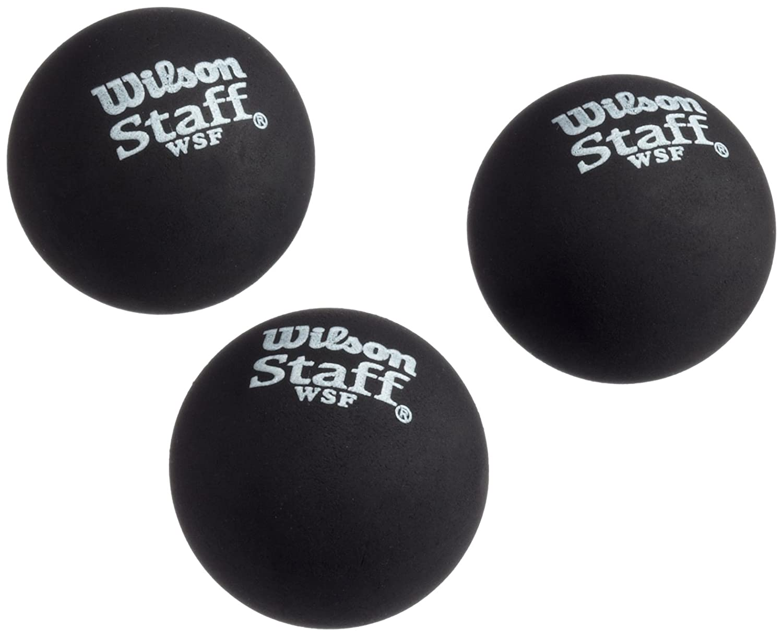 Wilson Ball Squash Balls (3 pcs) red t9179 red