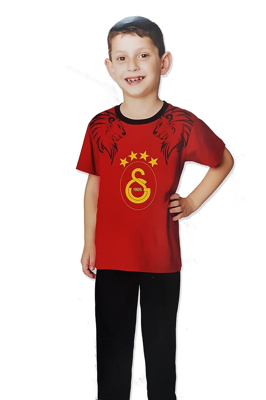 Galatasaray GS 1905 Kinder Schlafanzug Pyjama / Galatasaray Istanbul Lisanslı Pijama Takımı Yasin Tekstil