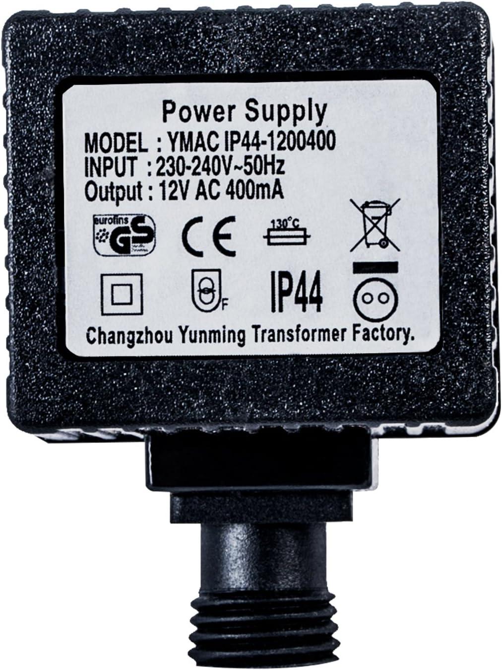 IP67 /Éclairage LED et transformateur de Pompe 1800 mA 29016-1800 K/öhko-Zubeh/ör Transformateur 12V 21,6 VA//W Alimentation AC pour Usage ext/érieur