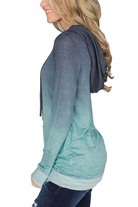 Minipeach Women's Pullover Long Sleeve Hoodies Coat Loose Casual Sweatshirts with Pocket by Minipeach (Image #3)