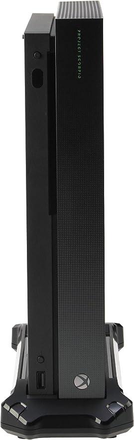 AmazonBasics - Plataforma de soporte vertical y USB 3.0 para Xbox One X, Negro: Amazon.es: Videojuegos