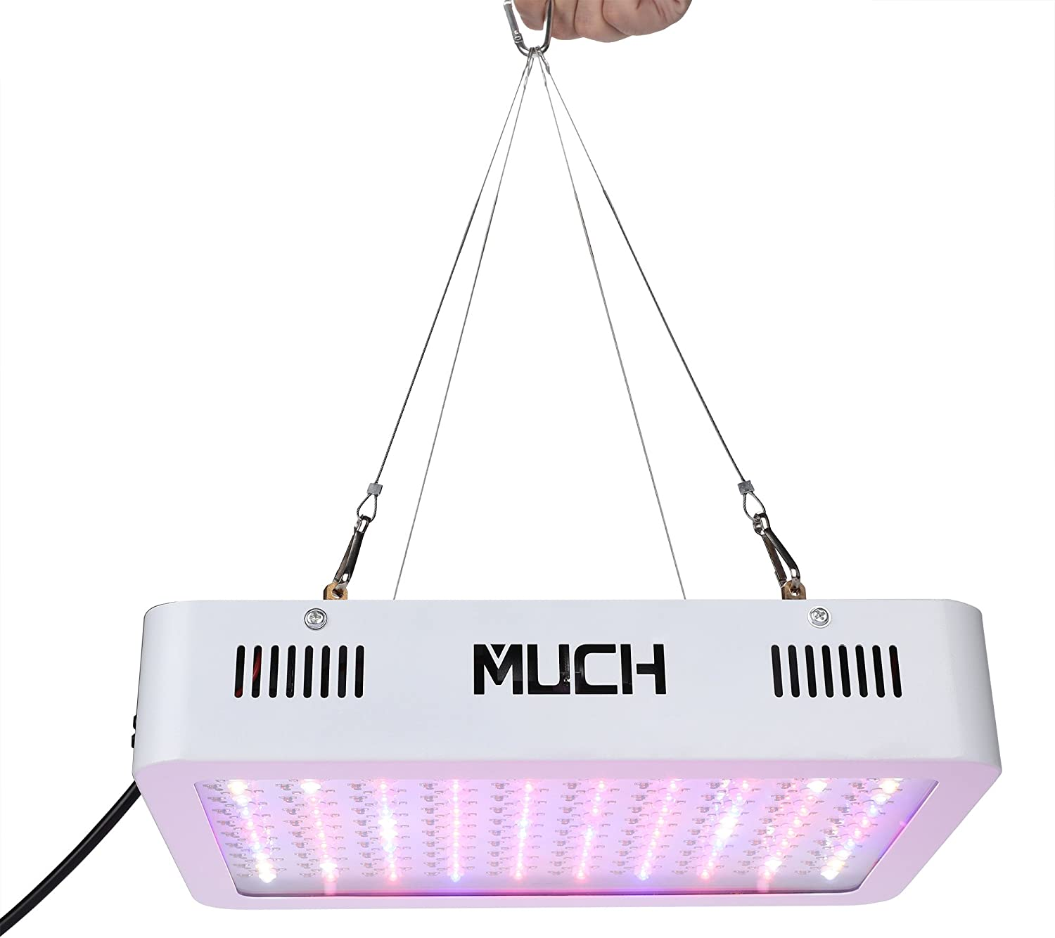 MUCH LED Grow Light, 300W Indoor Plant Grow Lights Full Spectrum Plant Grow Lamp with UV IR for Indoor Plants Veg and Flower 300W