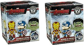 Funko Mystery Minis: Avengers 2 Blind Box Vinyl Figure 2-Pack: Amazon.es: Juguetes y juegos