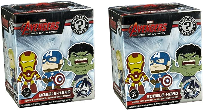 Funko Mystery Minis: Avengers 2 Blind Box Vinyl Figure 2-Pack: Amazon.es: Juguetes y juegos