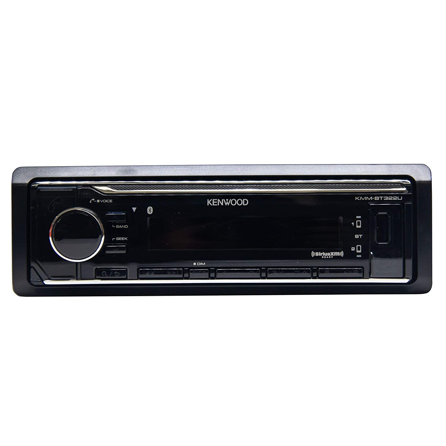 Kenwood KMM-BT322 Car Media Player Bluetooth no cd and no sirius