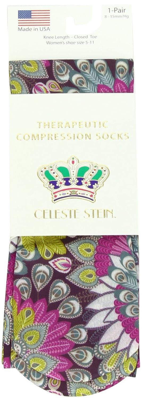 ac8dc3fe4b Celeste Stein Therapeutic Compression Socks, Multi Gogo, 8-15 mmhg, .6  larger image