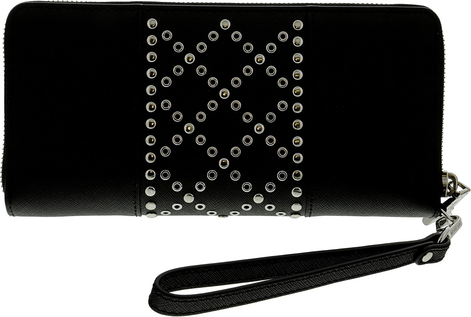 Michael Kors Money Pieces Travel Continental Wallet Black Leather by Michael Kors (Image #3)