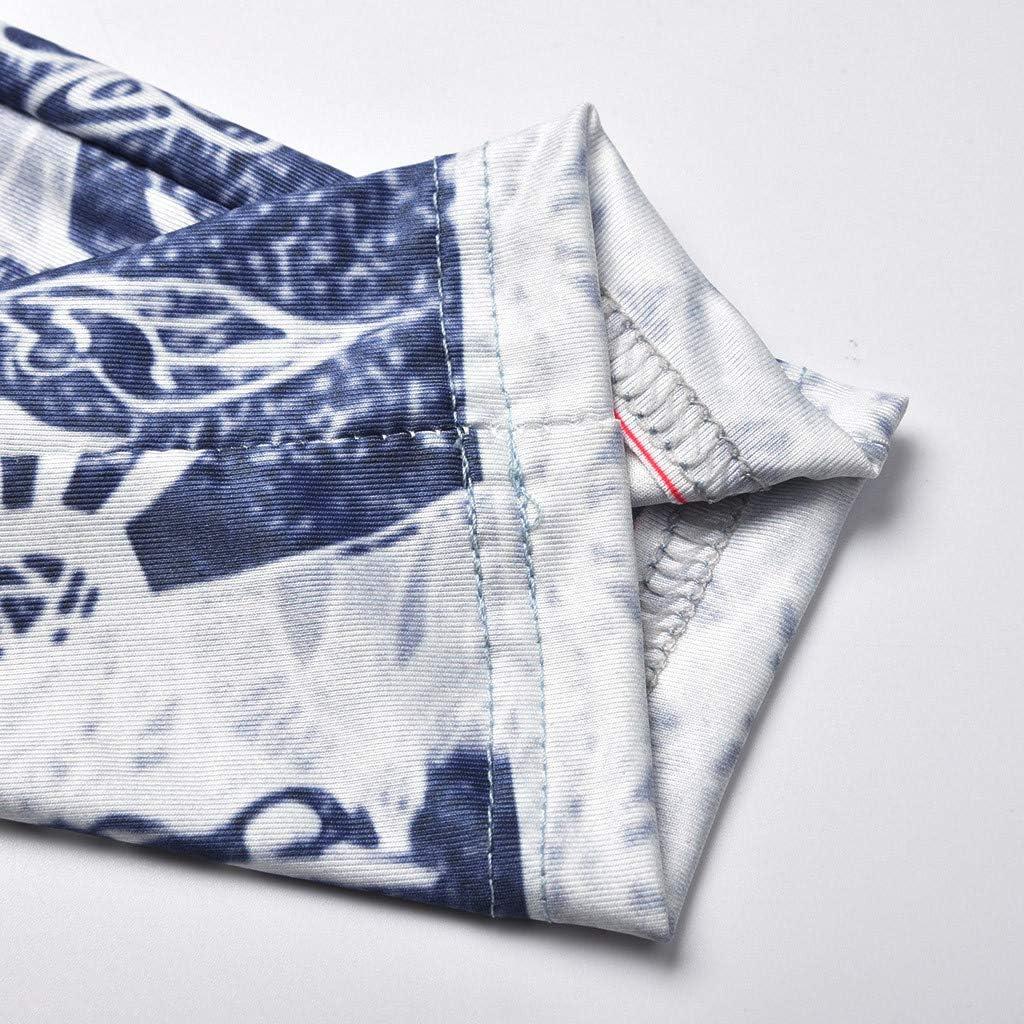 Honestyi Jeans Femme Grande Taille Pantalon Imprim/é Leggings Yoga Fitness Denim Collant Crayon Running Sports Trousers Skinny Pants Taille Haute D/écontract/ée /Élastique Pantalon