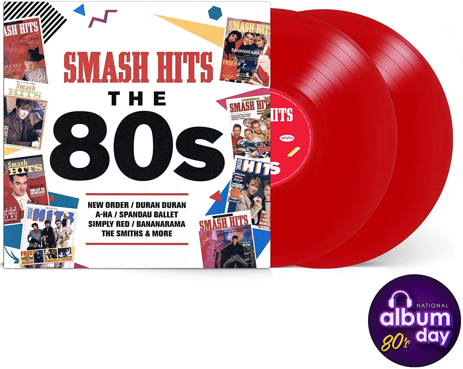 Varios - Smash Hits The 80S (Red) (2 LP-Vinilo)