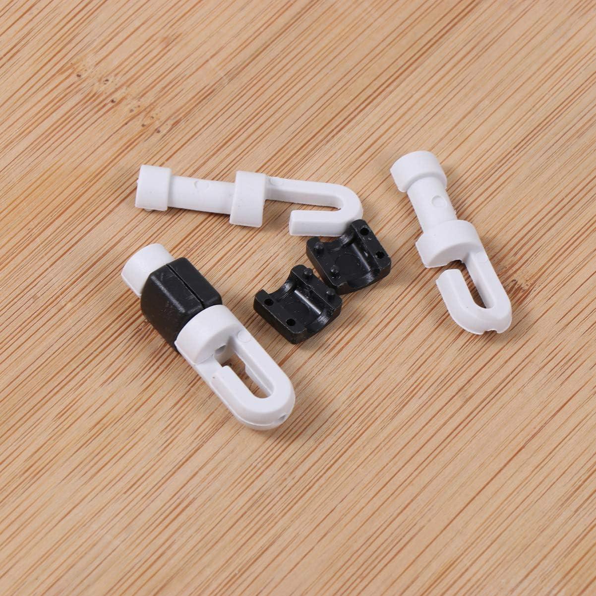 Hemobllo Caja de auriculares para auriculares con cable enrollador de cable de 6 piezas